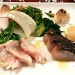 Ristorante Cornetto - 鮮魚のカルパッチョ