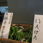 カフェ ド サラン - 地元畑で採れた本当の京野菜を使ってます。3