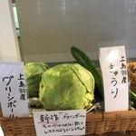 カフェ ド サラン - 地元畑で採れた本当の京野菜を使ってます。2