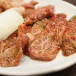 焼肉 白頭山 - 和牛カルビ