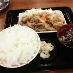 樹家 - サービスランチ日替わり360円