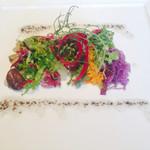 40010087 - 前菜、、色が綺麗