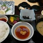 かじ天 - 玄海膳 (天ぷら以外)