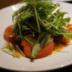ホームラン - トマトサラダ
