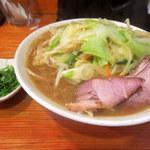 40016033 - 濃菜麺「野菜大盛り/パクチー追加」