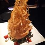 みとりん - カリカリポテトと大根サラダ