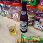 武蔵屋酒店 - まずは冷たいビールで。
