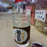 武蔵屋酒店 - さらに冷たいカップ酒で。
