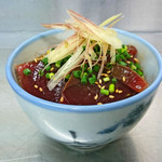 ZUND-BAR - 夏鰹の漬け丼