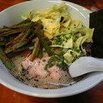 麺龍 - ニラそば