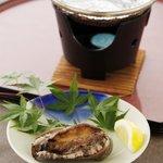 仙石高原大箱根一の湯 - あわび姿焼き(2,000円税別)※要予約