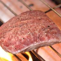 旬鮮 なが田 - 九州産和牛モモステーキ