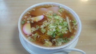 乾徳亭 - 850円コースの「ラーメン」