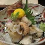 初音 - 北海道産つぶ貝 ボリュームたっぷり、味も濃い 一押し