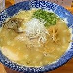麺や 亀陣 - 鶏白湯しお