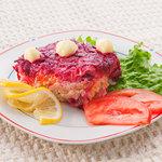 シベリア - ニシン と ビーツのサラダ/¥900