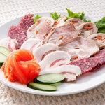 シベリア - 肉のオードブル/¥1500