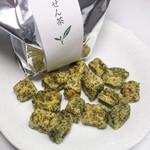 和束茶カフェ - 煎茶ラスク450円(2015.5月)