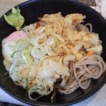 かめや 新宿店 - 冷やし天玉そば(¥400)7/17/2015