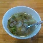 コシード - 野菜スープ、これも美味しい