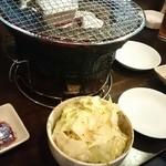 焼肉ホルモン 塩竈 - 塩キャベツ