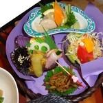 一龍 - かご膳1680円