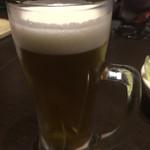 土間土間 八重洲店 - 生ビール
