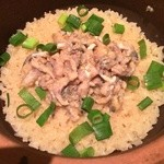 40035231 - 鯵と九条葱の土鍋飯