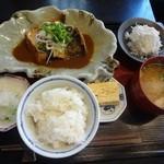 和料理 まつもり - 煮魚膳(鯖の味噌煮)