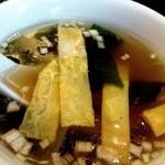 北京料理 彩鳳 - スープです