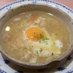 えびすや - 特製にんにくスープ
