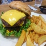 炭火焼ハンバーガー&ステーキ チェリーズ - ダブルチーズバーガー 1800円