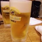 串かつでんがな - 生ビール