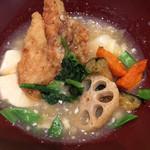 大戸屋 - すけそう鱈の生姜みぞれあん定食 ¥885 のすけそう鱈の生姜みぞれあん