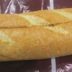タローパン - リンゴバタークリームを挟んだバゲット