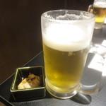 ぶれいこう - 生ビール(H27.1)
