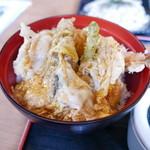 丸福 - 天とじ丼