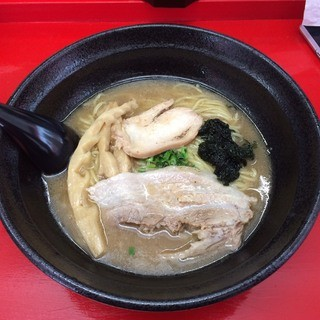鶏麺 関東家 - 鶏塩麺