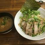 麺魂 - チャーシュー一六つけそば(温)850円