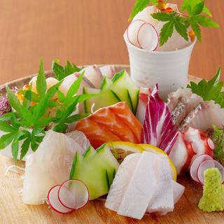 地元福岡長浜市場直送の鮮魚