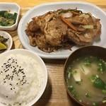 大納言 - 生姜焼き定食