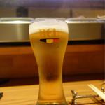 トラットリアバール イルピアット - 生ビール