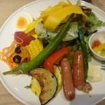 ころも農園 - サラダプレート