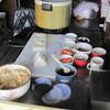 おにぎりおおくらや - 料理写真:調理中は・・・こんな感じ。