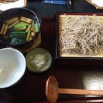 わかお - 「鴨汁そば」1600円