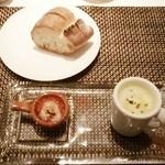 40046167 - ランチ・前菜とパン
