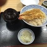 そば処 宇田川 - ミニ天丼