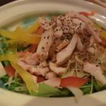 車 - ■鶏サラダ