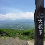 40047618 - 大観峯からの阿蘇五岳