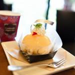 40047916 - ぴーち姫:期間限定で白桃の味がしっかり感じて、とても美味しかった♪